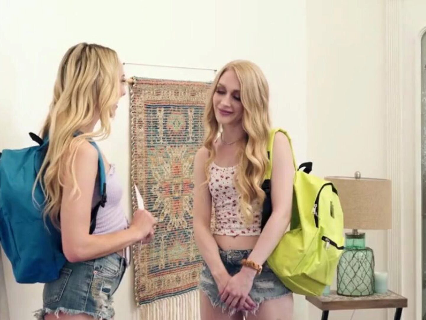 First Time Lesbian Fuck